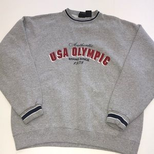 USA Olympic pullover size men's large